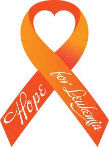 leukemia color ribbon world leukemia awareness month