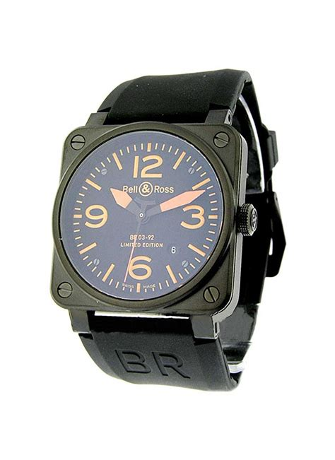 U Boat Premium Automatic Limited br 03 92 blk carorg sr bell ross br 03 carbon