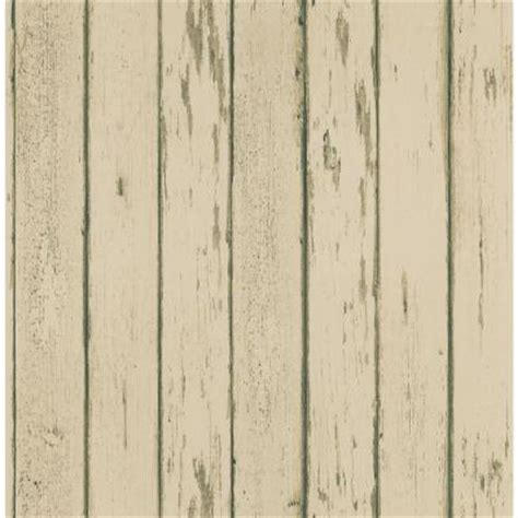 Brewster Home Depot by Brewster 8 In W X 10 In H Weathered Plank Wallpaper