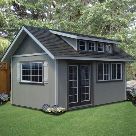 Sloped Roof Shed by Shed Plans With Sloped Roof