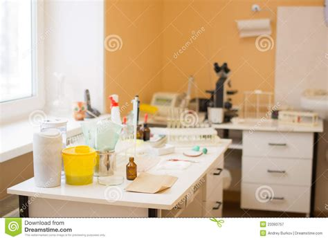 Testing Room by Blood Test Room In Hospital Royalty Free Stock Photography