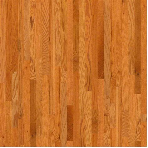 Plank Wood Flooring Shaw Woodale Oak 3 4 In Thick X 2 1 4 In Wide X Random Length Solid Hardwood Flooring