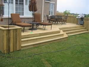 residential deck plans
