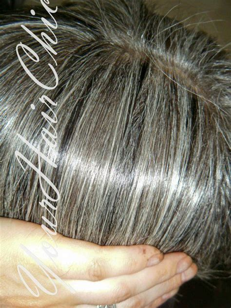 color highlights to blend gray into brown hair blending the gray grey hair silver hair pinterest