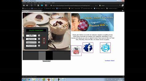 tutorial pagina web en dreamweaver como dise 241 ar una pagina web con dreamweaver video iii