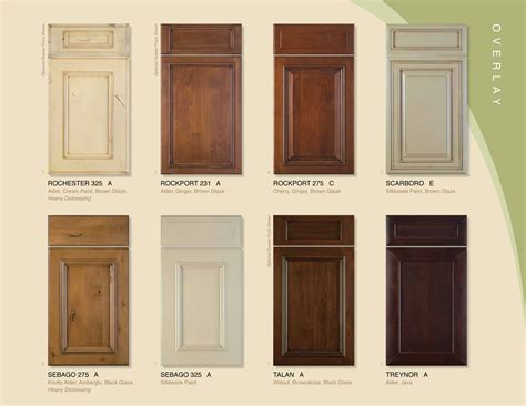 kitchen cabinet door styles and shapes to select home cabinet doors styles