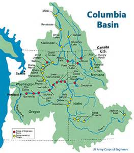 columbia river facts and maps