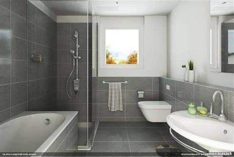 simple bathroom design with grey walls decor decorating