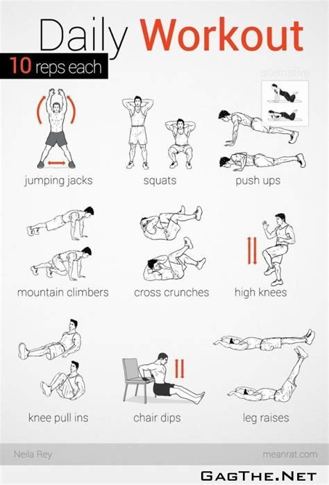 78 images about daily workout routine on 30