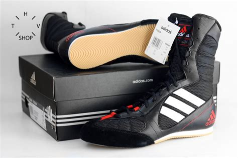 Sepatu Tinju Adidas Box Ch 3 adidas tygun boxing shoes black silver helvetiq