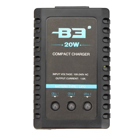 3s lipo battery charger new b3 20w balance charger 2s 3s lipo battery charger for