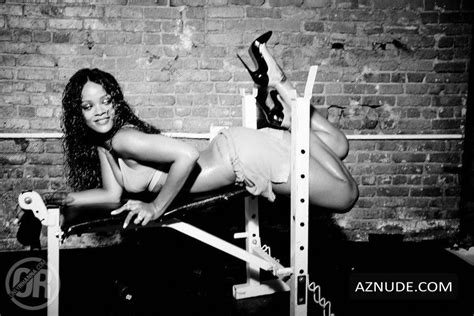 Rihanna Sexy And Topless For Esquire Magazine Aznude