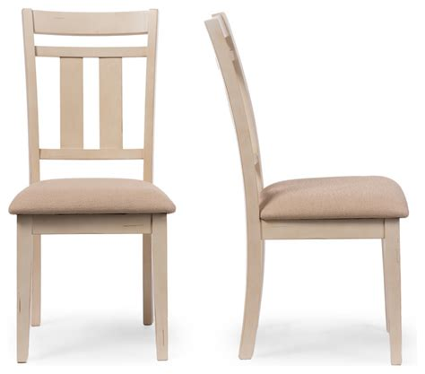 White Distressed Dining Chairs by Roseberry Antique Oak And Distressed White Dining