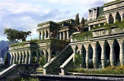 imagenes de los jardines de babilonia los jardines colgantes de babilonia