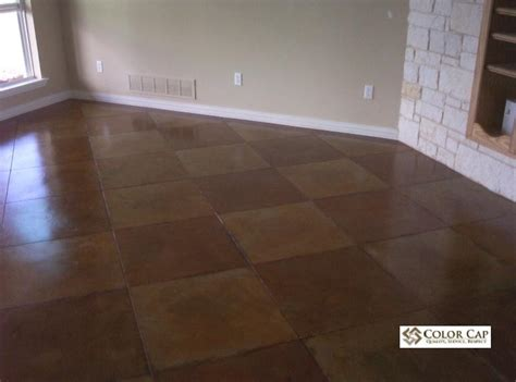How To Stain Interior Concrete Floors by Concrete Floor Stain Trendy Concrete Acid Staining With