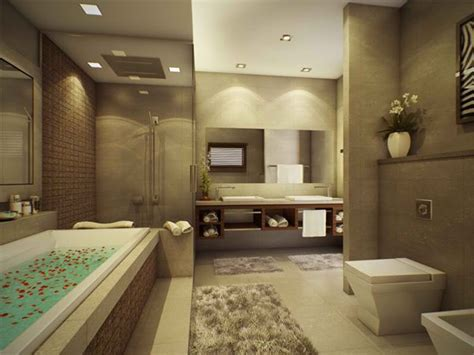 modern style bathroom 15 stunning modern bathroom designs home design lover
