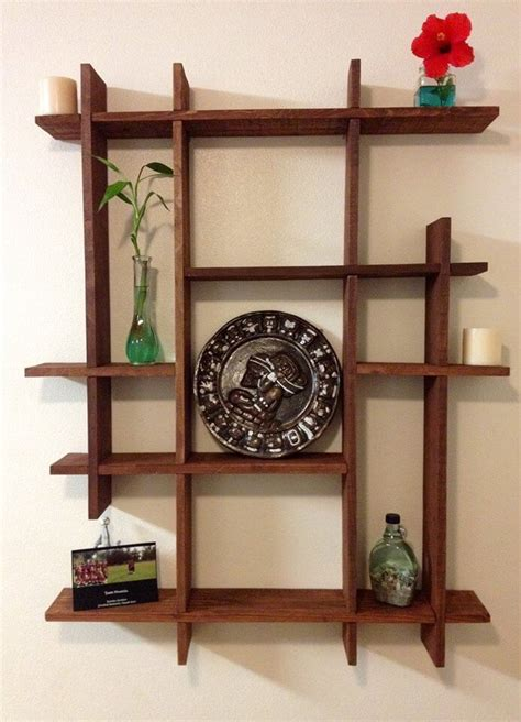 pallets wood decorative shelf ideas 101 pallets
