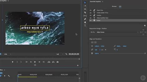 Pluralsight Premiere Pro Cc Essential Graphics Gfxdomain Blog Essential Graphics Premiere Pro Templates