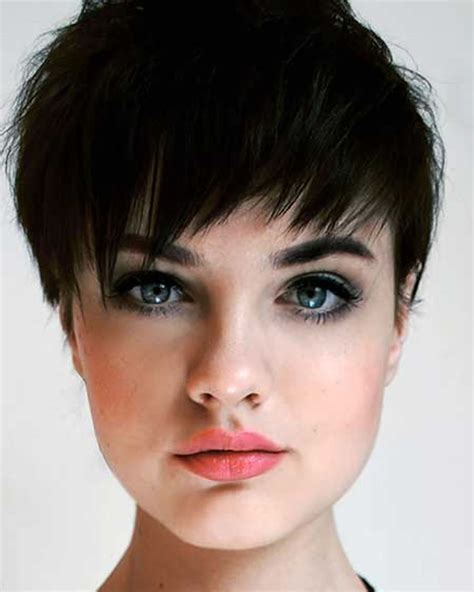 pixie haircut for strong faces pixie hairstyles fine hair for round face 2018 2019 page
