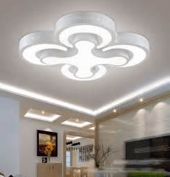 Ceiling Light Fixtures For Kitchen Aliexpress Buy Modern Led Ceiling Lights 48w Bedroom Ls 4heads For Livingroom Kitchen