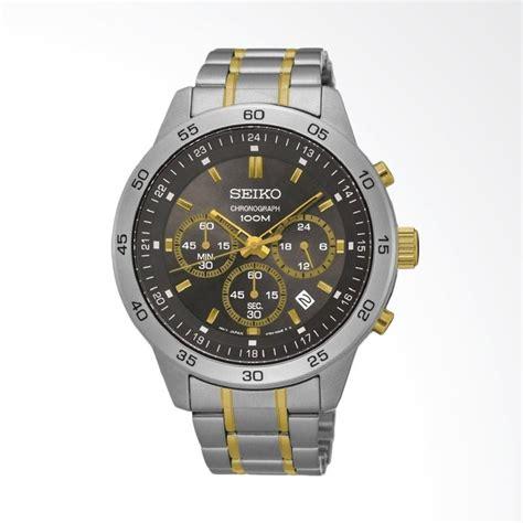 Stainless Jam Tangan Seiko jual seiko chronograph stainless steel jam tangan pria