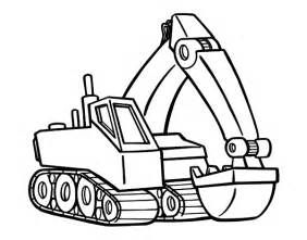 free coloring pages of cat digger