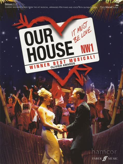 our house madness sheet music our house the musical piano vocal guitar sheet music book madness ska 80s pop