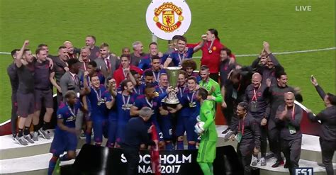 2017 europa league final manchester united wins europa league final returns to