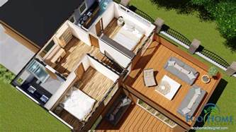 20 foot shipping container home sch17 10 x 20ft 2 story container home plans eco home