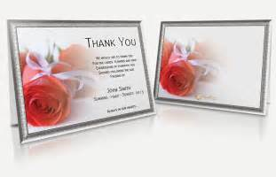 7 best images of printable bereavement cards funeral cards sympathy thank you note cards
