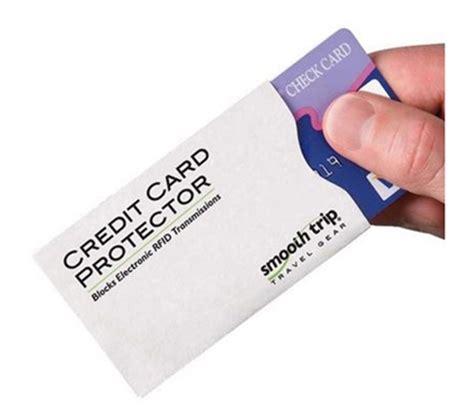 Sle Credit Card Slip Credit Card Protector Rfid Blocking Slips 2 Pack