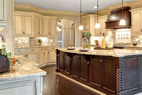different color kitchen cabinets variety
