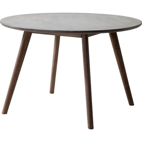 Elite Dining Table Zuo 703590 Elite Dining Table In Cement Homeclick