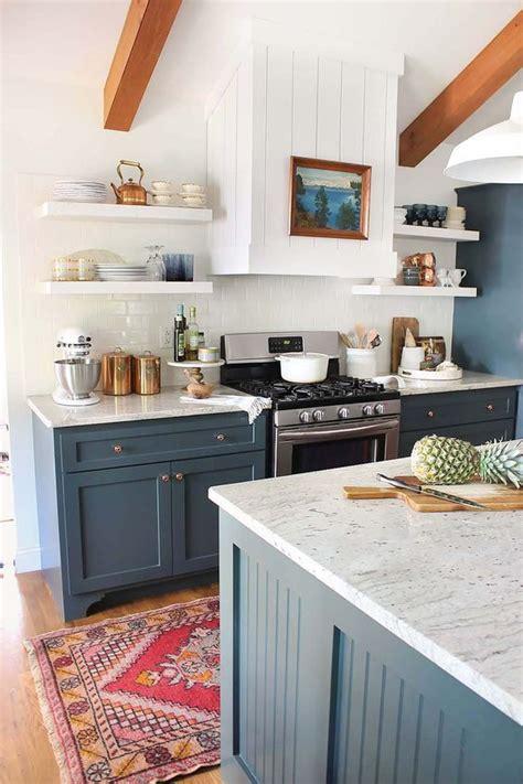 blue kitchen decorating ideas 50 blue kitchen design ideas decoholic
