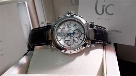 N Gc Guess Collection authentic guess collection gc x44007g1telemeter chrono
