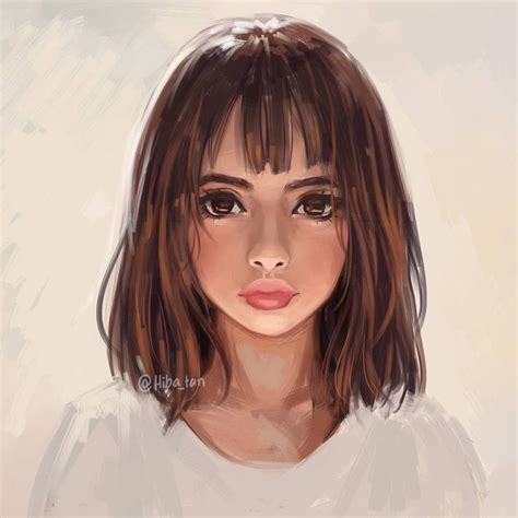 drawing of bob hair 25 best ideas about girl face drawing on pinterest