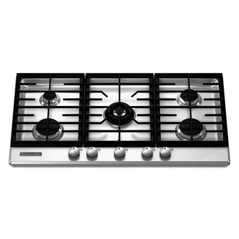 36 Gas Cooktop Reviews - kitchenaid kfgs366vss 36 quot gas cooktop