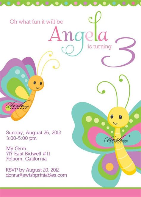 free printable butterfly birthday decorations butterfly birthday party invitation butterflies