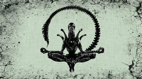 alien lotus pose full hd wallpaper  background image