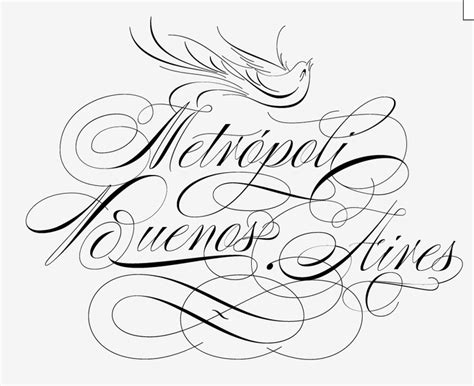 tattoo font bird poem script by ale paul the writing s on the wall