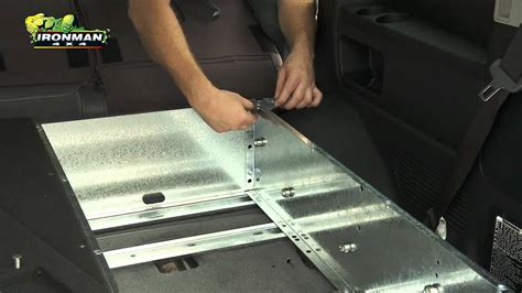 how to install ironman 4x4 drawer system