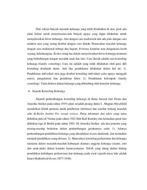 Bimbingan Lanjutan Dasar Bld 3 konsep dasar bimbingan dan konseling keluarga