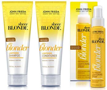 Blonder Giveaway Contest Mound by Frieda Sheer Kit Sweepstakes With Kathy