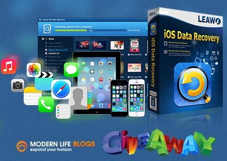 Leawo Giveaway - giveaway of leawo ios data recovery modernlifeblogs