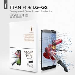 Titan Premium Tempered Glass Screen Protector For Lg G5 lg g2