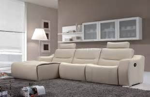 White Leather Recliner Sofa Popular White Leather Recliner Sofa And Damacio Leather Power Reclining Sectional