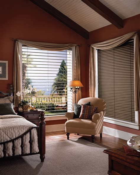 bedroom window covering ideas macro blinds offer beautiful vistas