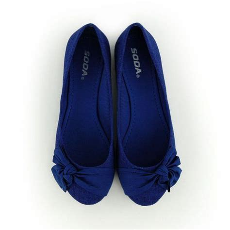 royal blue flats shoes royal blue bow flat shoes accessories and
