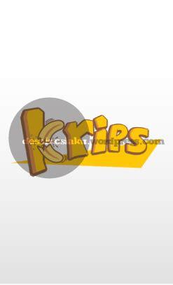 logo krips keripik pisang rasa desainesiaku