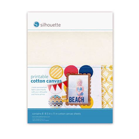 printable cotton fabric silhouette silhouette printable cotton canvas graphtec gb